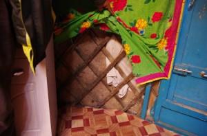 na návštěvě u majitele výrobny plstí v Darchanu