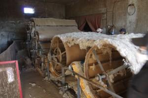 ve výrobně jednoho soukromníka v Darchanu